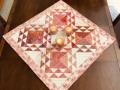 Coral-Table-Topper-Front-on-Point-with-Peach-Candles