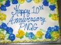 June 2011 10th Anniversary Cake