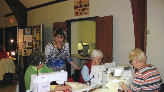 2012 w-s Cora, Kathy, Helen, Martha